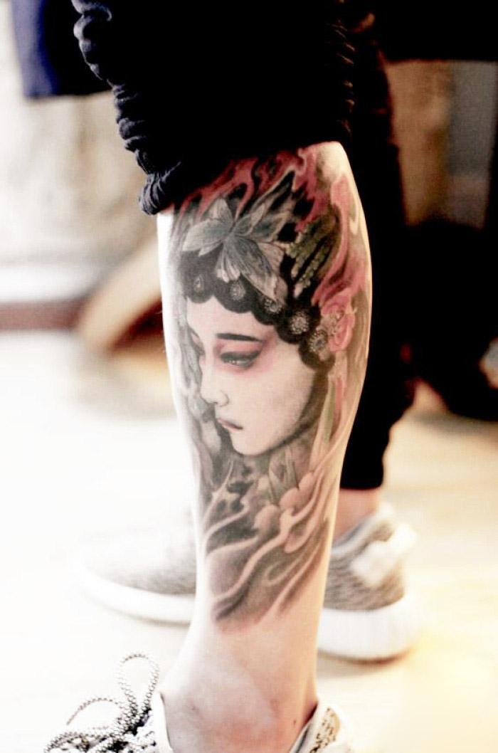属兔的人纹身_生肖纹身大全:属龙的人纹身什么好?26幅图案推荐 - 广州纹彩刺青